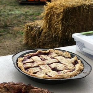 Market Recipe Blog: Fall Fair 1st Place Pie (Strawberry Lavender)