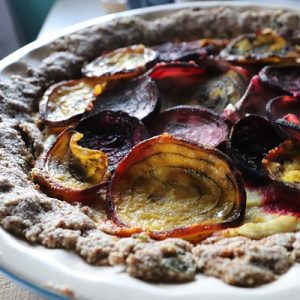 Market Recipe Blog: Roasted Beet Tart