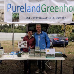 Saturday Farmers' Market Vendor Feature: Pureland Greenhouse