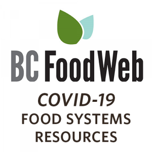 BC Food Web COVID-19 Food Systems Resources