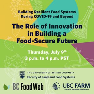 The Role of Innovation in Building a Food-Secure Future