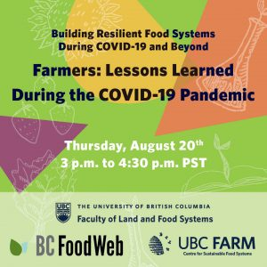 Farmers: Lessons Learned During the COVID-19 Pandemic