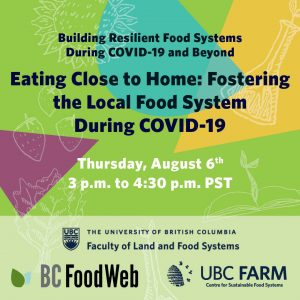 Eating Close to Home: Fostering Local Food Production During COVID-19