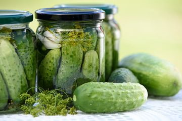 *Online* Fermenting the Harvest: Pickling without Canning
