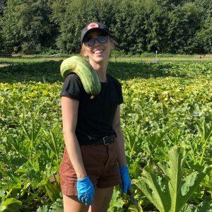 Work Learn Profile: Ashley Bell, Vegetable Field Worker